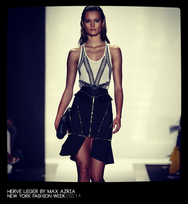 730 x 792 jpeg 104kB, Herve Leger by Max Azria Spring Summer 2014 ...