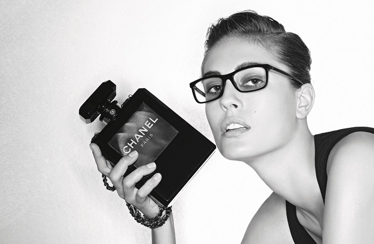f91a62c7e30 Ashleigh Good   Nadja Bender for Chanel Eyewear