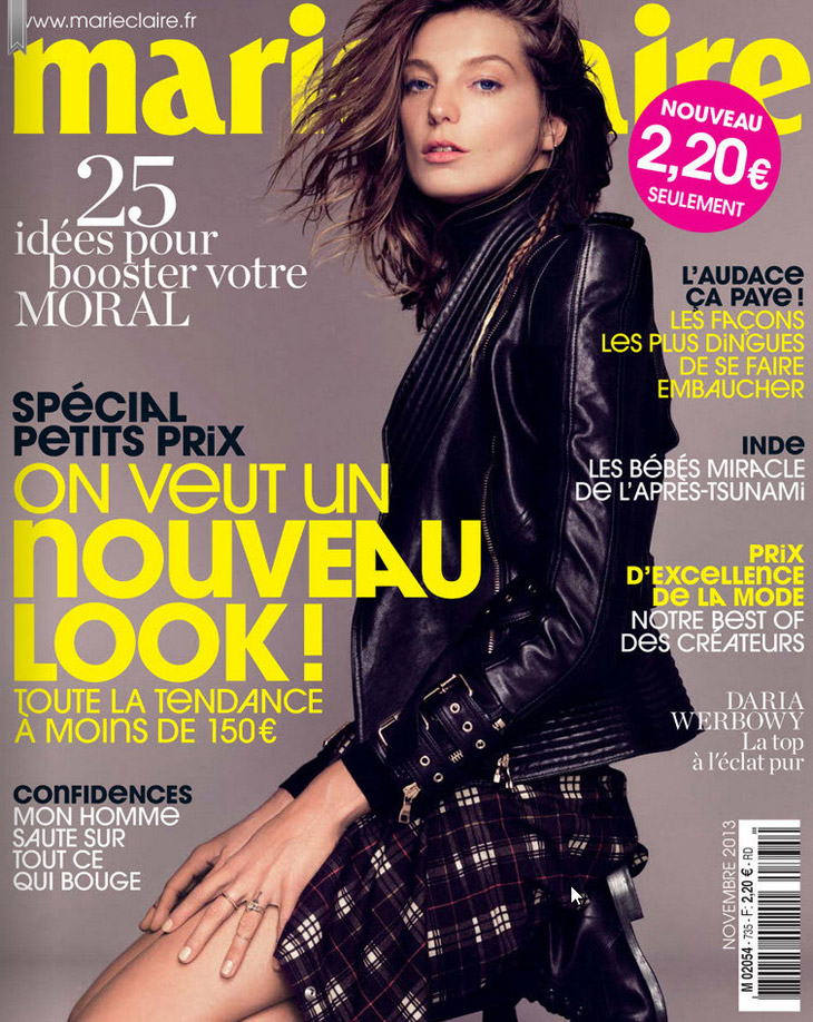 daria werbowy for marie claire france by nico. Black Bedroom Furniture Sets. Home Design Ideas