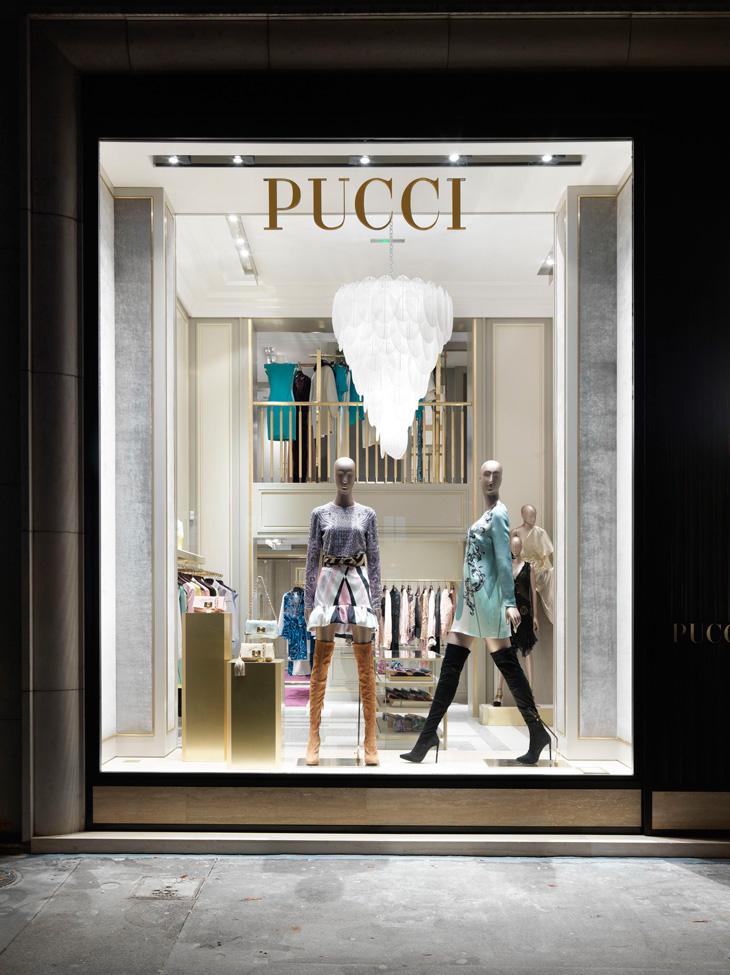 New Emilio Pucci Boutique In Paris