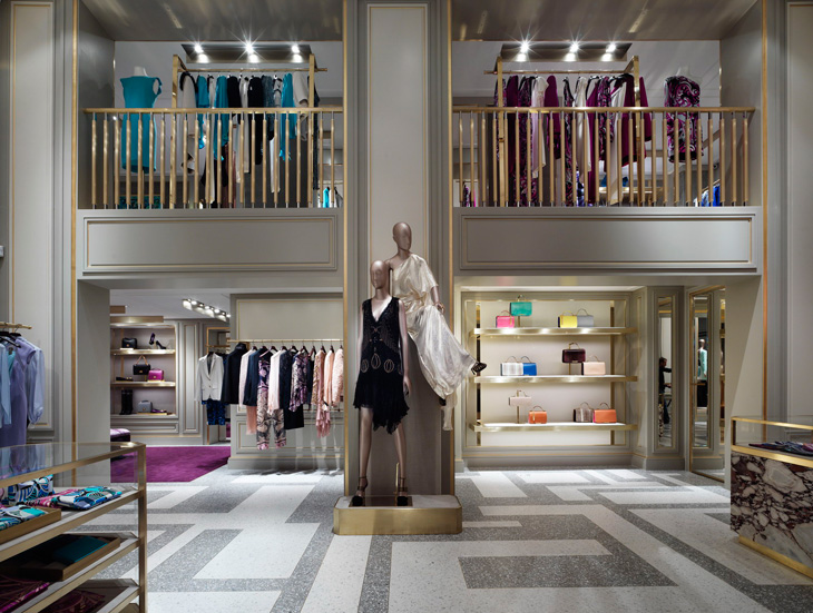 new emilio pucci boutique in paris. Black Bedroom Furniture Sets. Home Design Ideas
