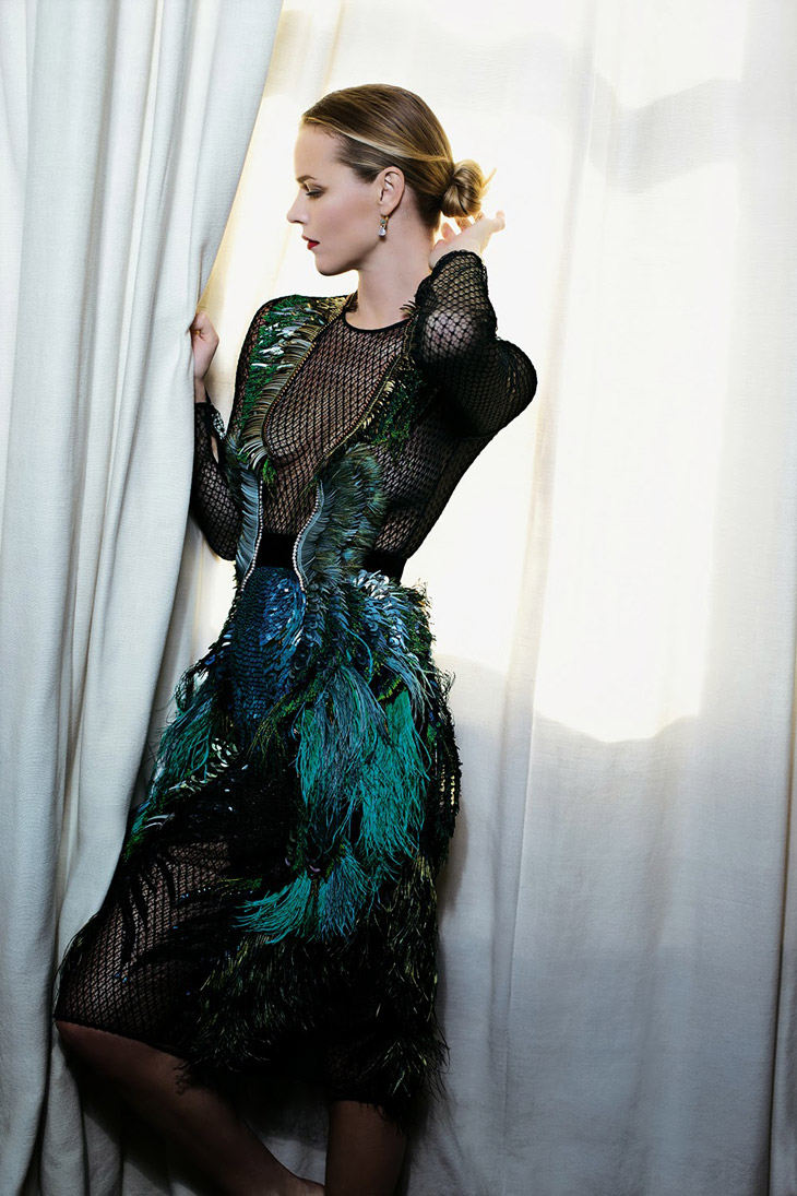 Eva Herzigova For Io Donna By Toni Thorimbert