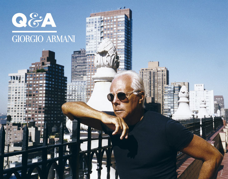 It S Officially The Giorgio Armani Day In New York