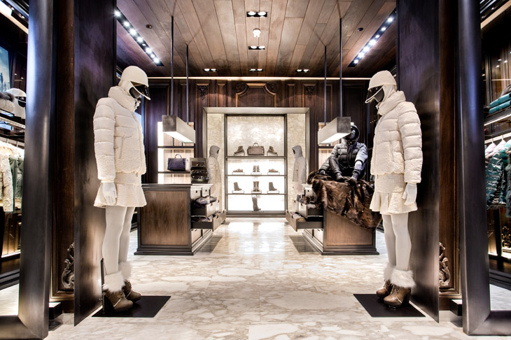 moncler opens store in istanbul. Black Bedroom Furniture Sets. Home Design Ideas