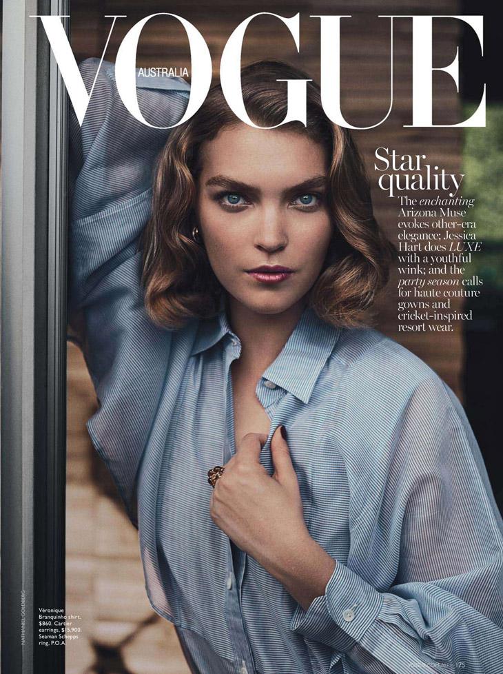 Arizona Muse For Vogue Australia By Nathaniel Goldberg
