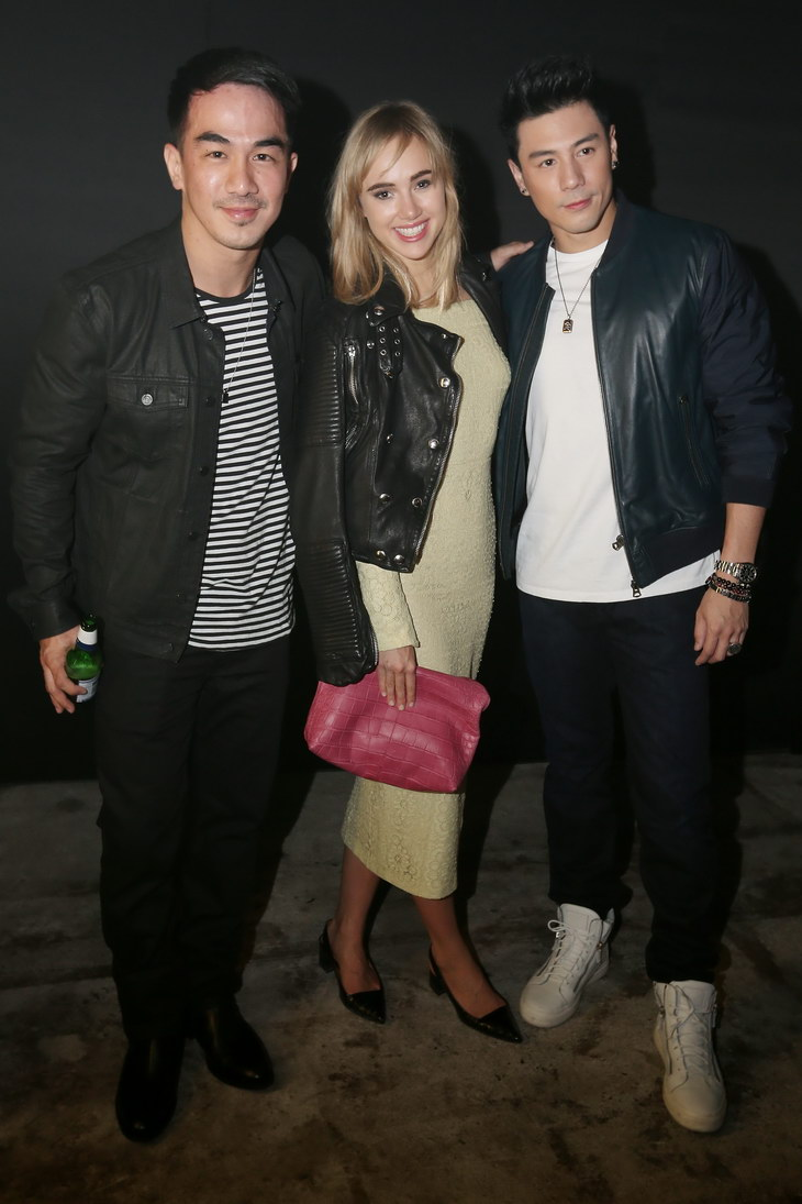 Joe Taslim, Suki Waterhouse, Dome