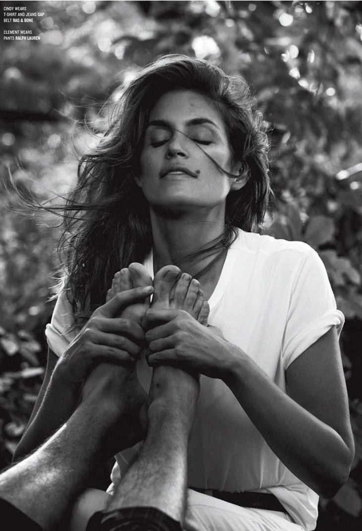 Cindy Crawford Amp Clement Chabernaud For V Magazine