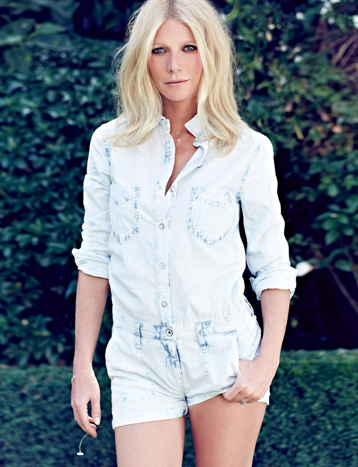 Gwyneth Paltrow for Red Magazine by Max Abadian