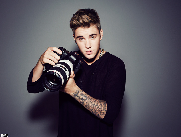 Justin Bieber Hollywood Reporter Photoshoot