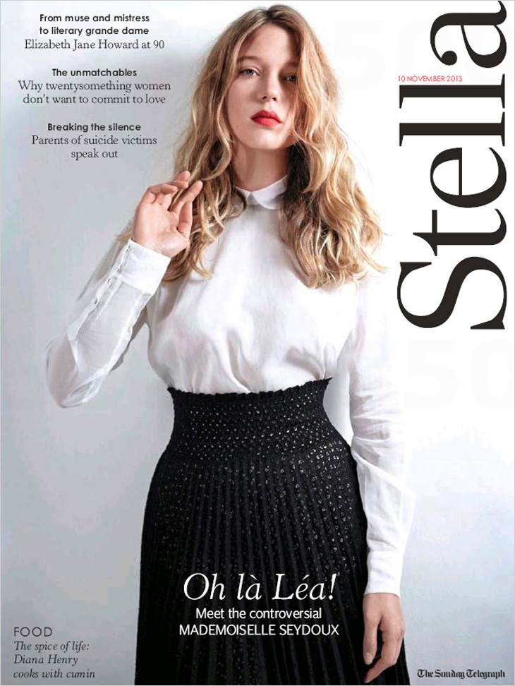 Lea Seydoux For Stella Magazine By Eric Guillemain