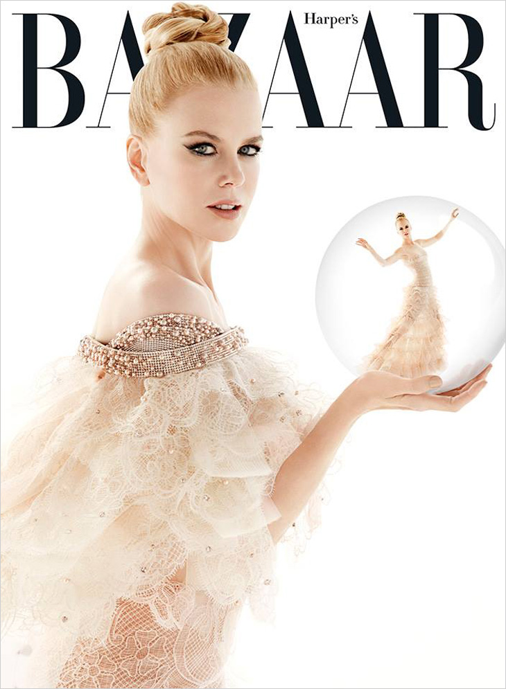 Nicole Kidman For Harper S Bazaar Australia December 2013