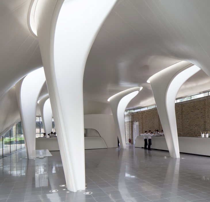 Serpentine Sackler Zaha Hadid