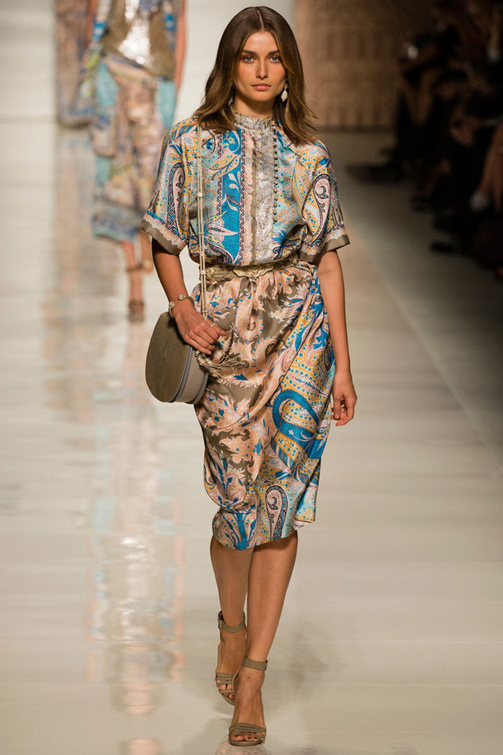 FIRST LOOK: Etro Spring Summer 2014 by Mario Testino