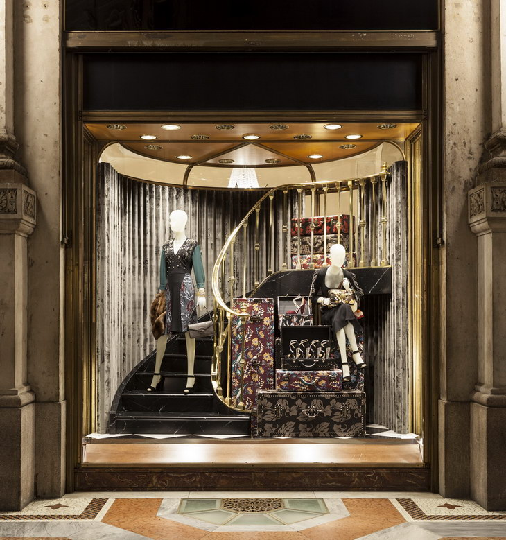 Prada Unveils Showstopping Christmas 2013 Windows