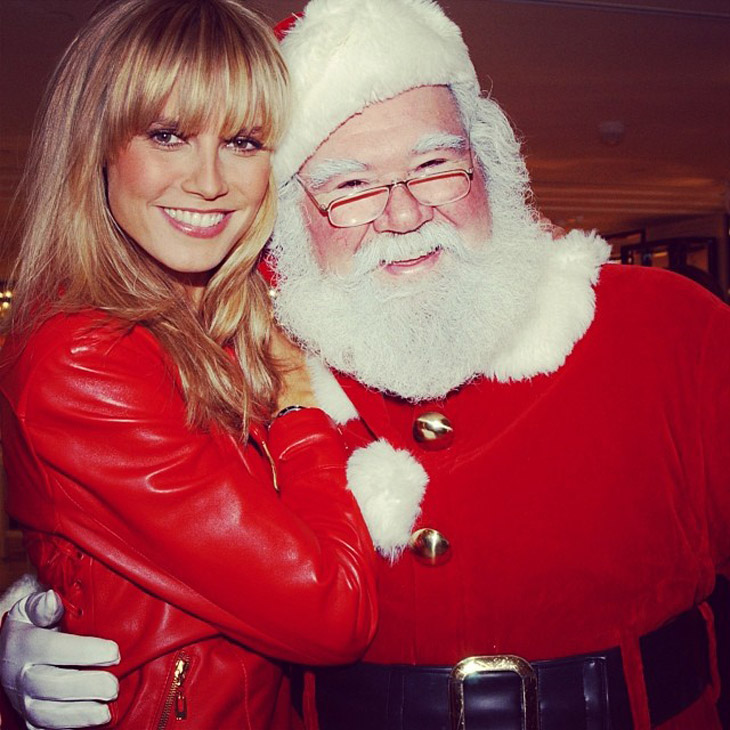 Discover #Insta Christmas With Top Models