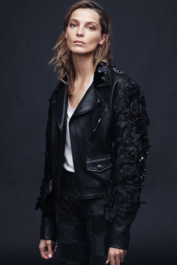 Daria Werbowy Shines On Fashion Canada S October 2013: Daria Werbowy For Harper's Bazaar US By Daniel Jackson
