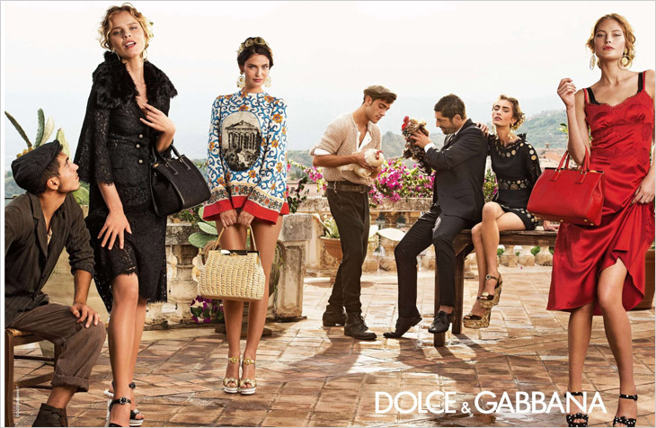 first look dolce gabbana spring summer 2014. Black Bedroom Furniture Sets. Home Design Ideas
