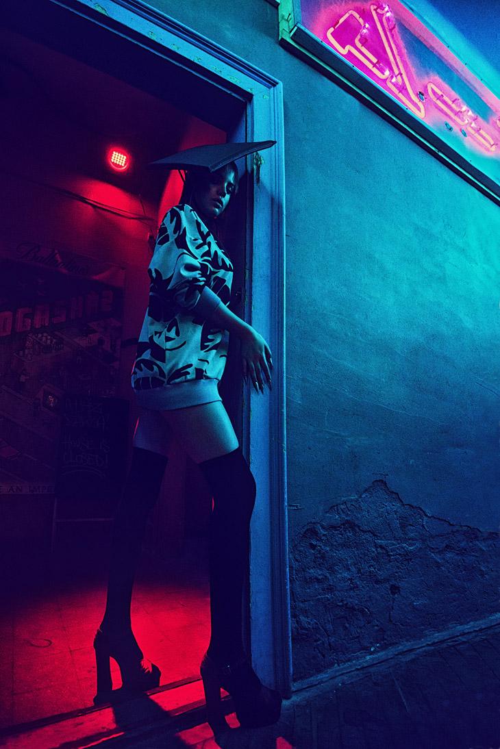 Berta In Neon By Edina Csoboth For Design Scene Online