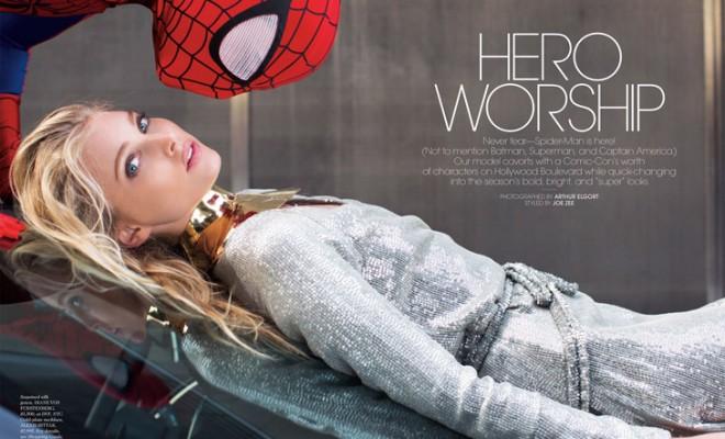 Elsa Hosk American Elle Arthur Elgort 01