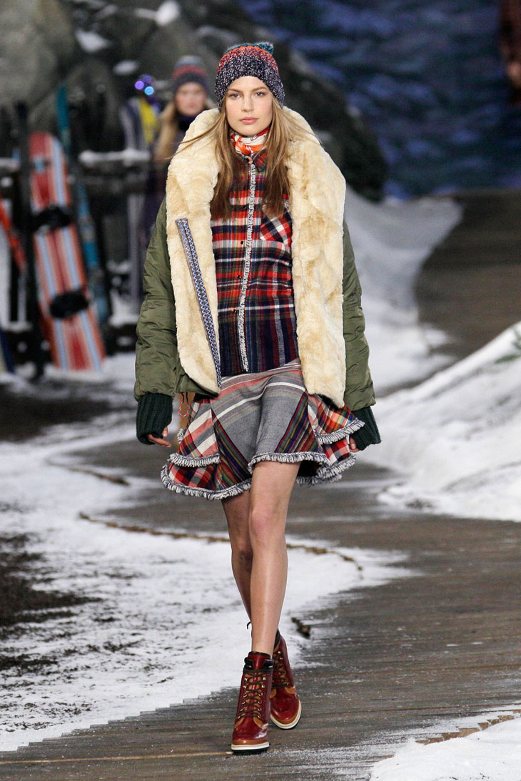 Tommy Hilfiger Womenswear Fall Winter 2014