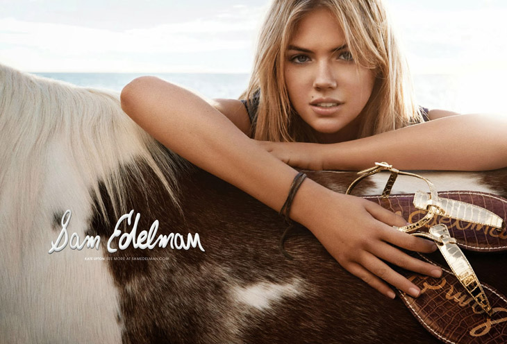 b546c90594dff9 Kate Upton for Sam Edelman Spring Summer 2014 by Craig McDean
