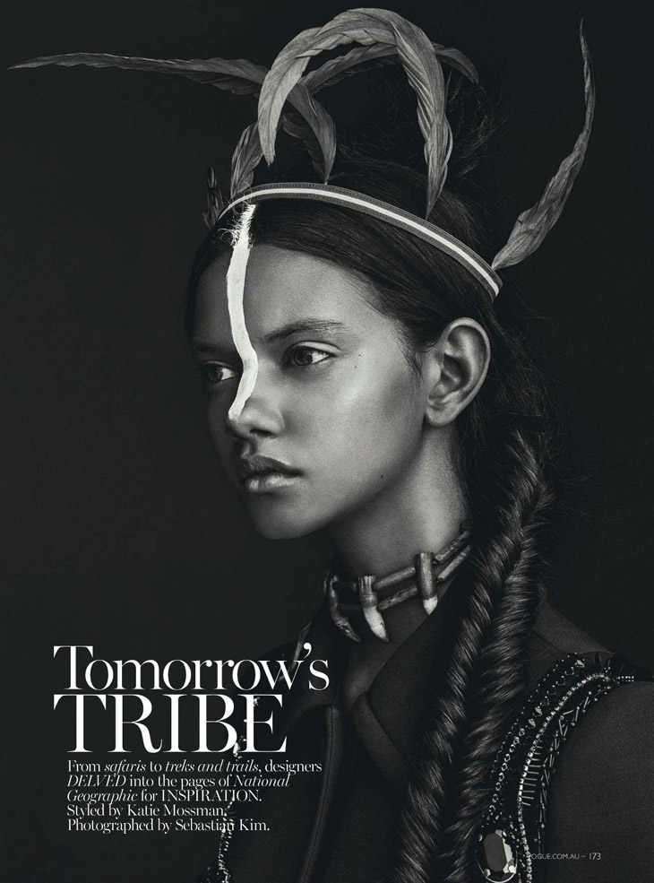 marina nery by sebastian kim for vogue australia