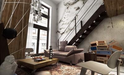 Prague Loft by Andre Sedmak Studio 01