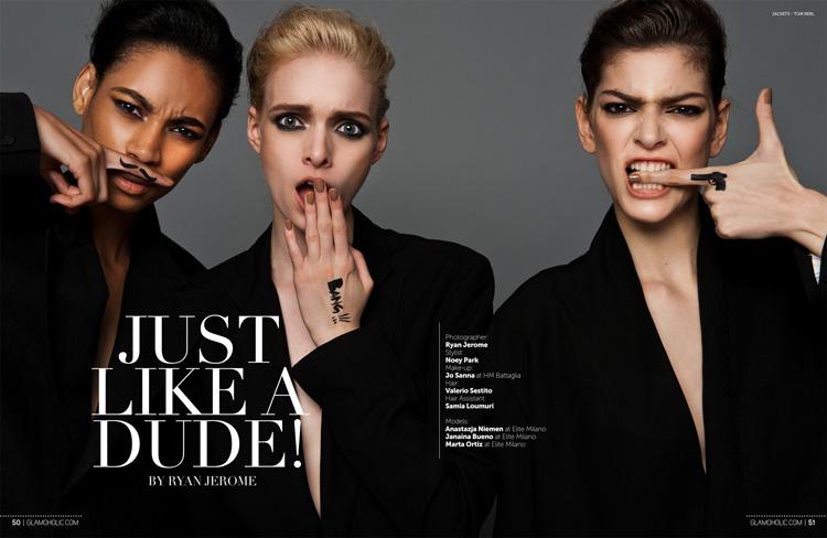 Like Dude Glamoholic Magazine