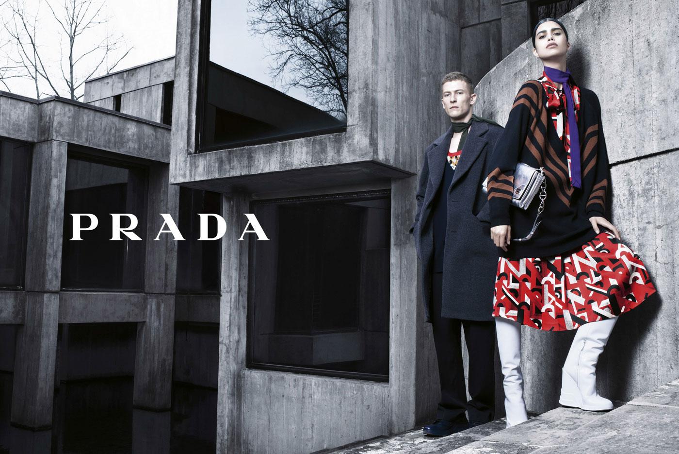 Prada Fall Winter 2014 Campaign by Steven Meisel