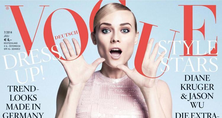 Diane Kruger Vogue Germany December 2019