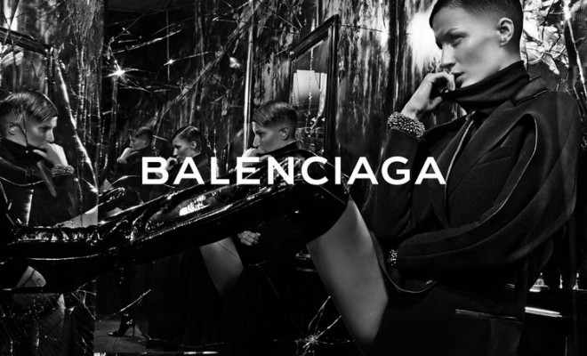 Gisele Bundchen Balenciaga FW14.15 01
