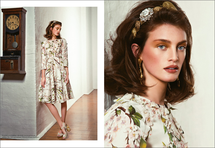 Milly Simmonds L'officiel Iakovos Kalaitzakis