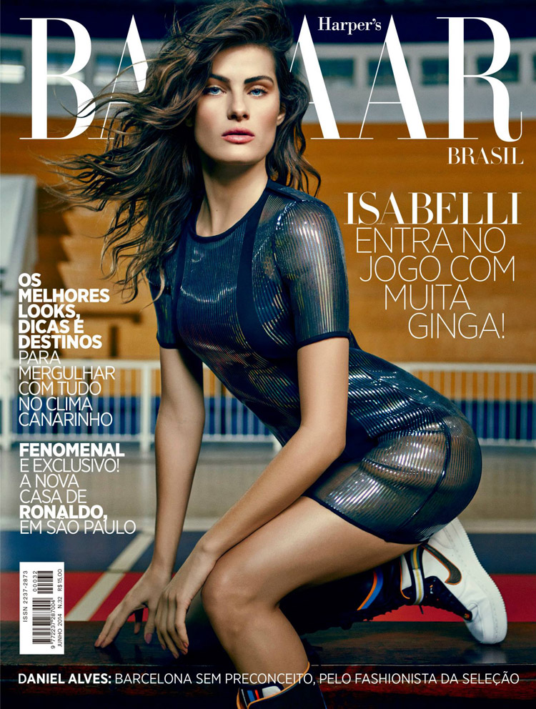 Isabeli Fontana for Harpers Bazaar Brazil by Fabio Bartelt