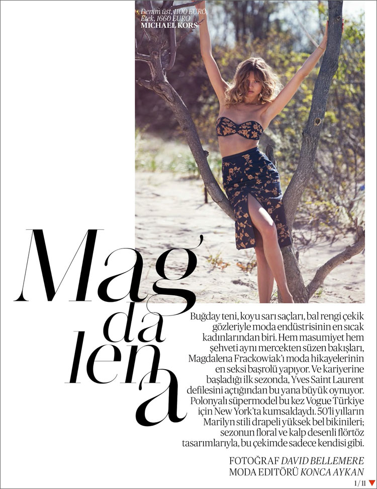 David Bellemere Vogue Turkey