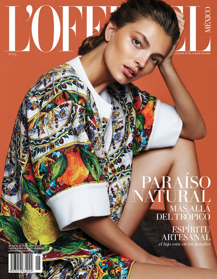 Max Abadian L'Officiel Mexico