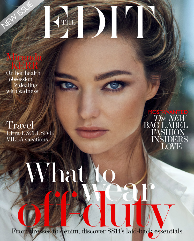 Miranda Kerr for The Edit by Chris Colls