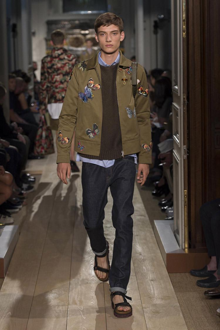 Valentino Spring Summer 2015 Menswear Collection