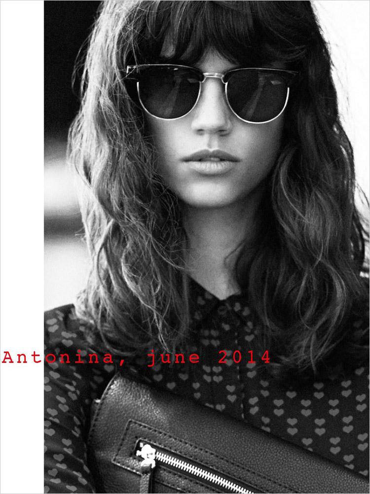 Antonina Petkovic For Mango June 2014
