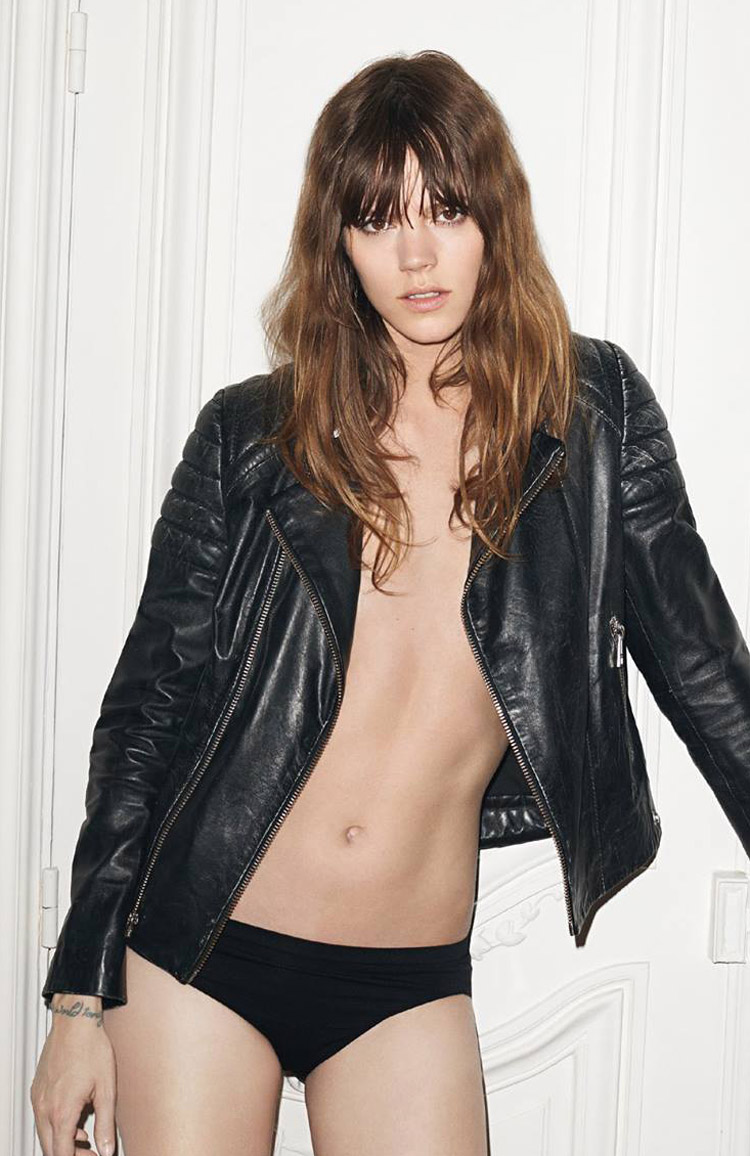 Amanda Elise Lee Pelada freja beha erichsen for zadig & voltaire fall winter 2014.15