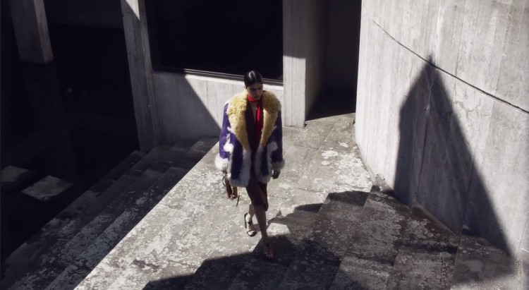 Prada Fall Winter 2014 Video Steven Meisel 08