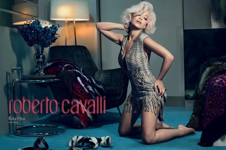 Rita Ora Roberto Cavalli FW14.15 1a
