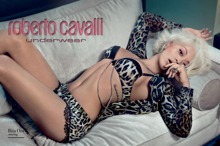 Rita Ora Roberto Cavalli FW14.15 2a