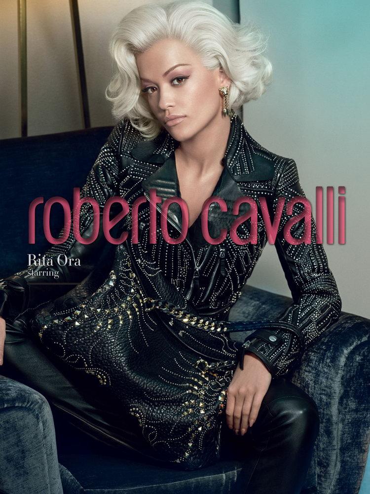 Rita Ora Roberto Cavalli FW14.15 3a