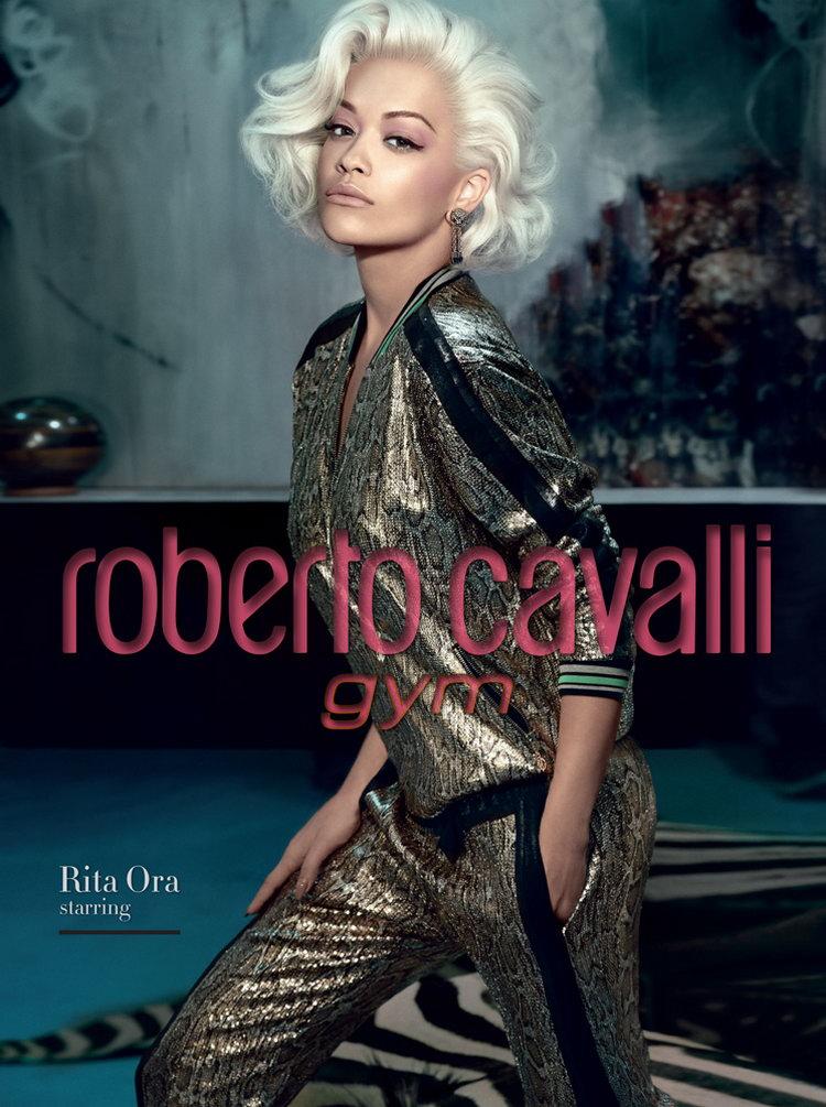 Rita Ora Roberto Cavalli FW14.15 4a