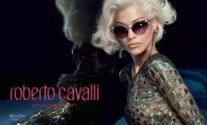 Rita Ora Roberto Cavalli FW14.15 Eyewear 01