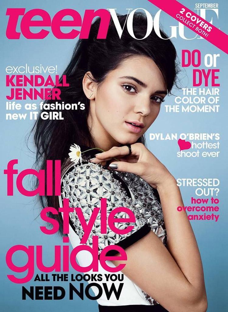 Kendall Jenner for Teen Vogue September 2014
