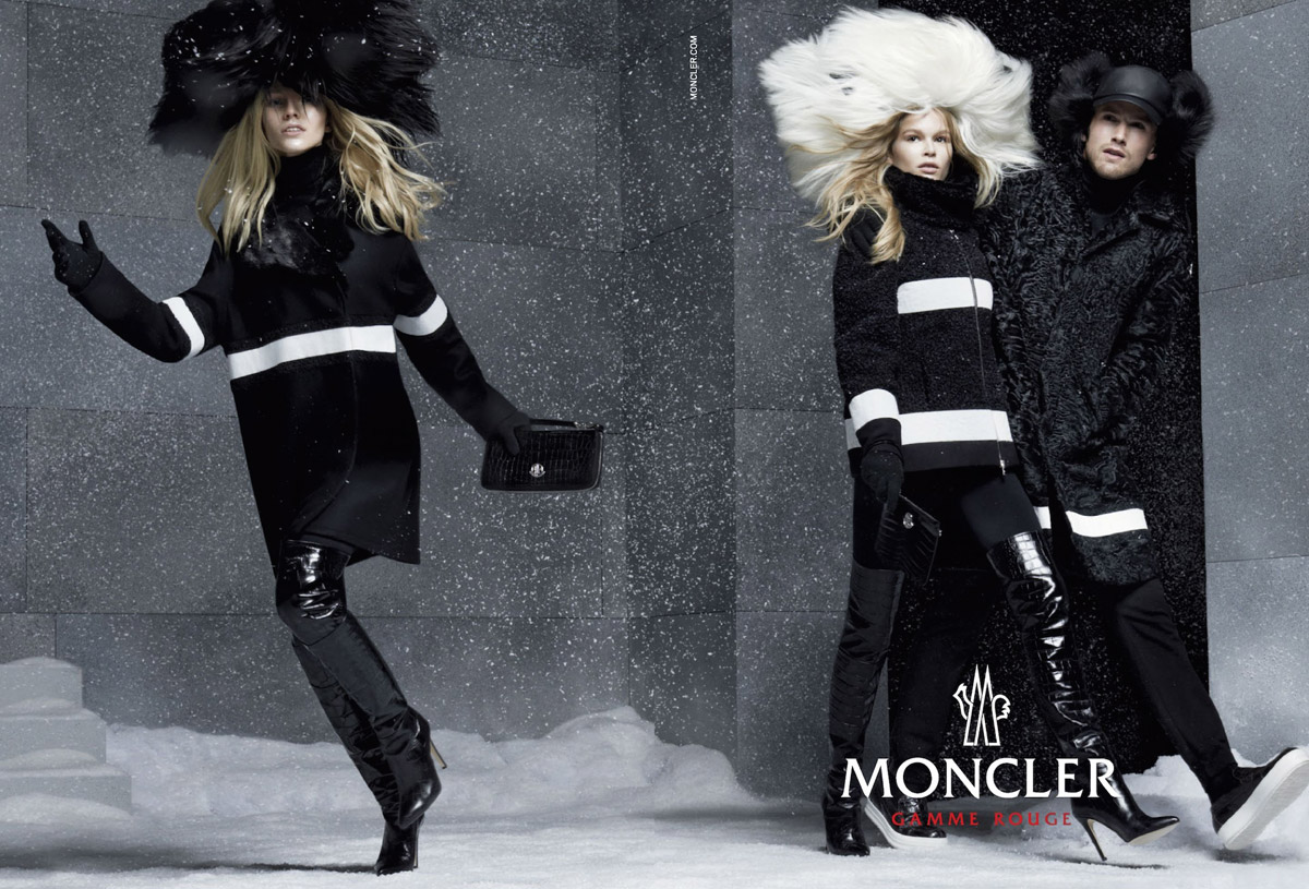 Moncler Gamme Rouge Fall Winter 2014 15 By Steven Meisel