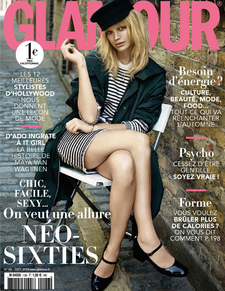 Nadine Leopold For Glamour France By Stefano Galuzzi