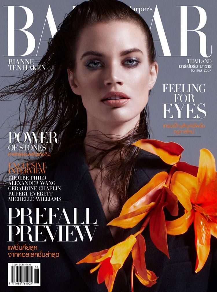 Rianne Ten Haken For Harpers Bazaar Thailand August 2014