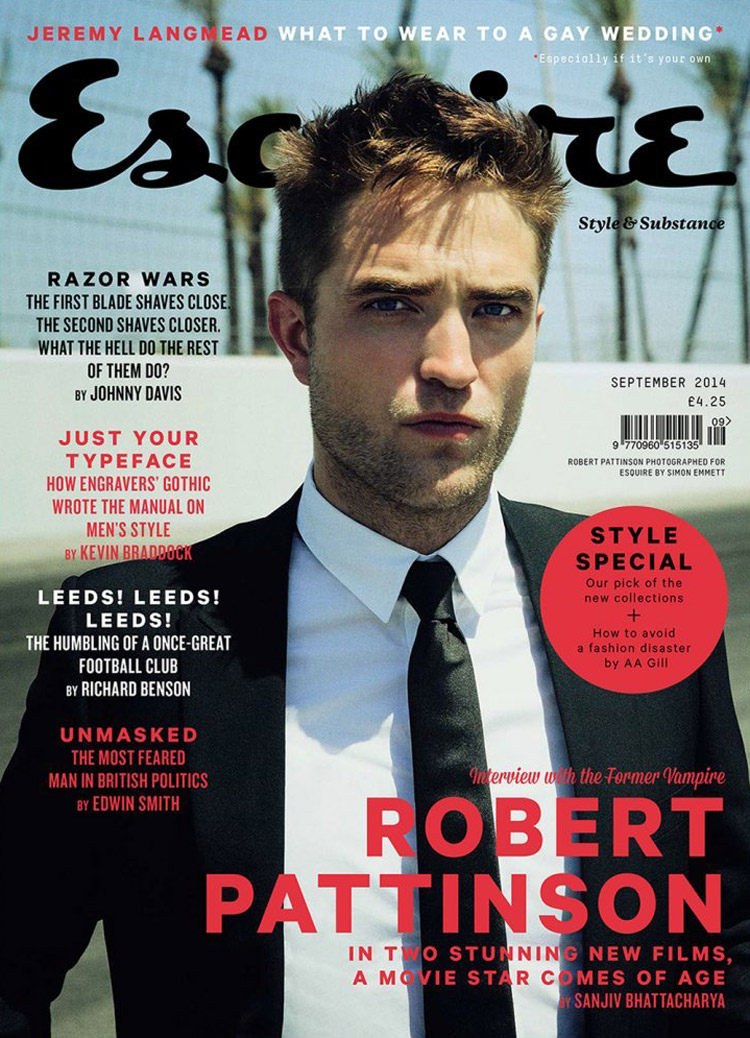 Robert Pattinson For Esquire Uk By Simon Emmett